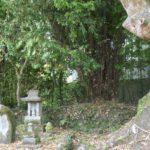 参考資料 諫早神社 神社境内西側境界